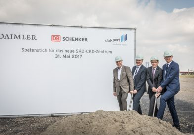 DB Schenker staví obří ostrovní logistické centrum pro Mercedes Benz