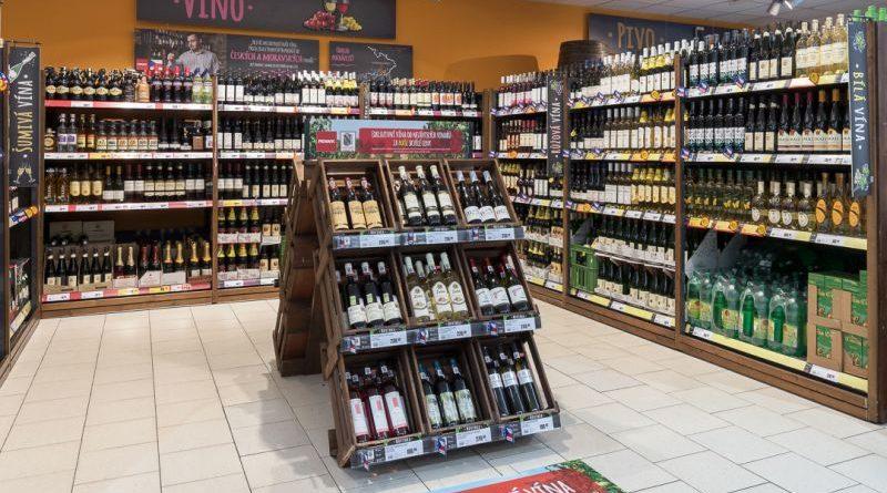 Penny Market_sekce vin w