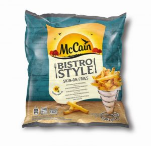 McCain Bistro Style Skin-on Fries 650gw